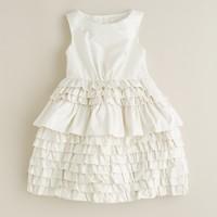 Girls' taffeta Contessa dress