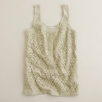 Lace-over tank