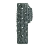 Dotted knit tie