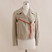 Trench motorcycle jacket