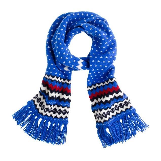 Drake's® zigzag scarf
