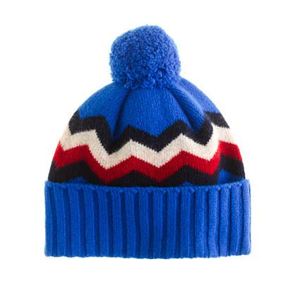 Drake's® zigzag hat