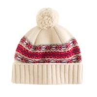 Drake's® Fair Isle hat