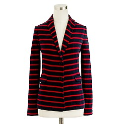 Maritime-stripe blazer