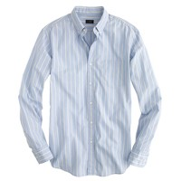 Slim Secret Wash shirt in yellow stripe