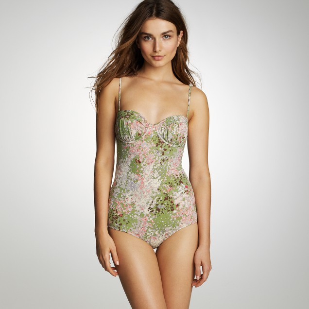 Flores ruched underwire tank