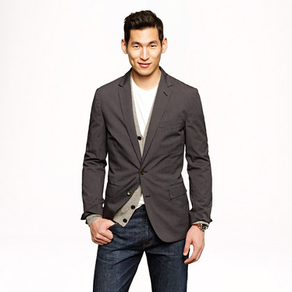 Ludlow sportcoat in Japanese cotton twill