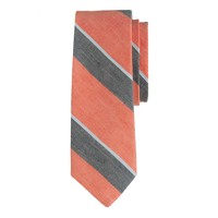 Broad multistripe tie