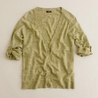 Merino-linen cardigan