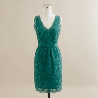 Oleander lace shift dress