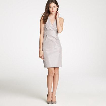 Alisanne dress in silk taffeta