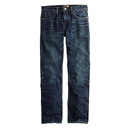 770 jean in dark worn wash