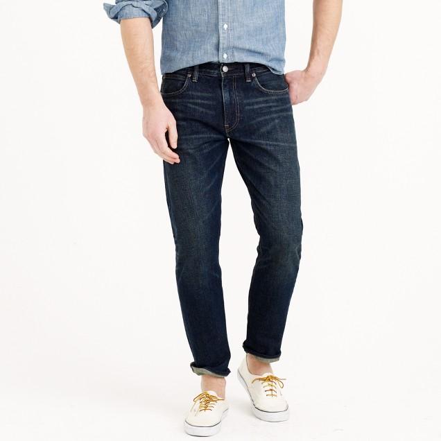 770 jean in dark worn wash