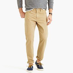 770 garment-dyed jean
