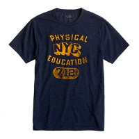 NYC physical education tee