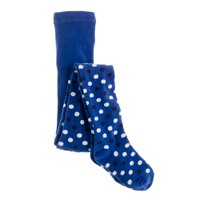 Girls' double dots tights
