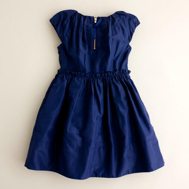 Girls' Collection silk taffeta Joliette dress