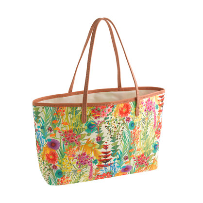 Girls' Liberty tote bag in Tresco floral
