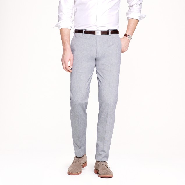 Ludlow classic suit pant in Italian oxford cloth