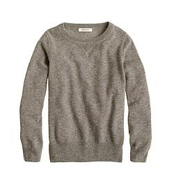 Kids' Italian cashmere sweatshirt