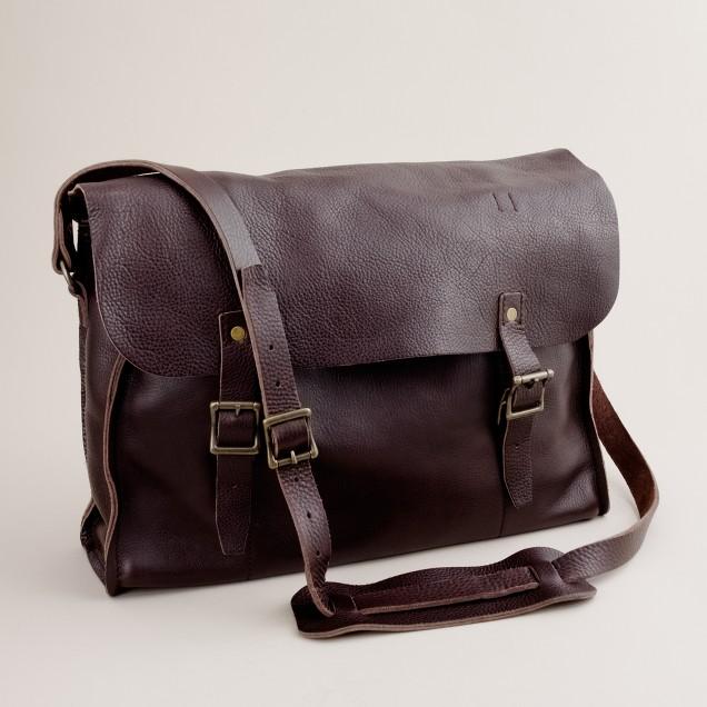 Leather railway bag