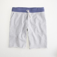 Vintage fleece short