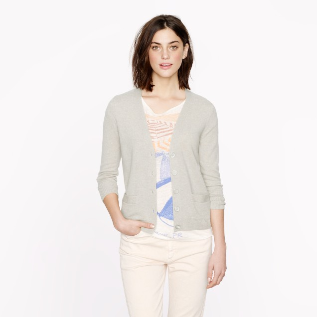 Collection cashmere V-neck cardigan