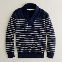 Cotton nautical-stripe popover