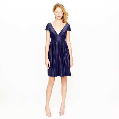 Lynnton dress in silk taffeta