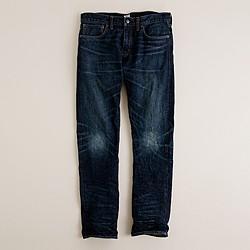 484 jean in dark worn wash