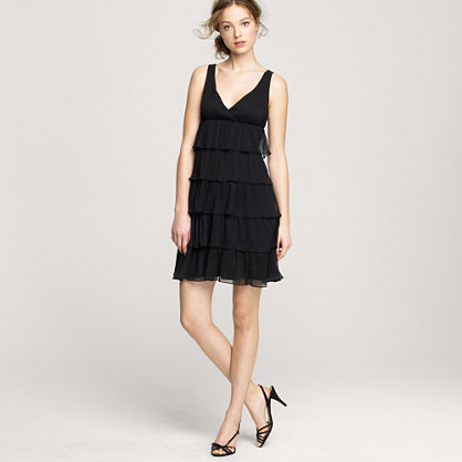 Zadie dress in silk chiffon
