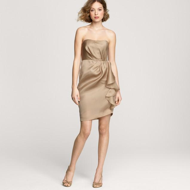 Alannah dress in silk organza