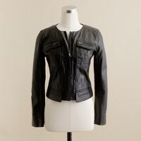 Lambskin motocross jacket