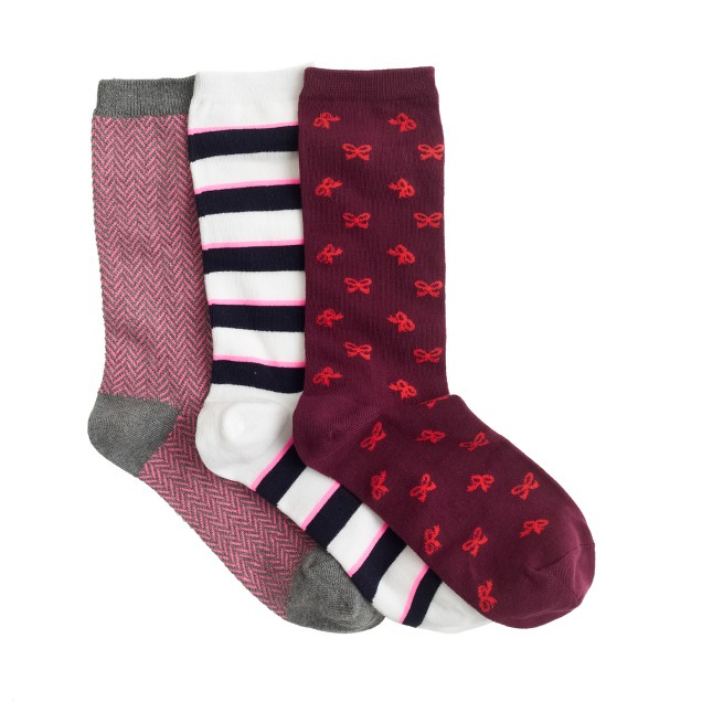 Gift socks three-pack
