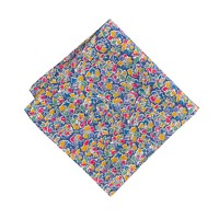 Liberty pocket square in Amy Hurrel floral
