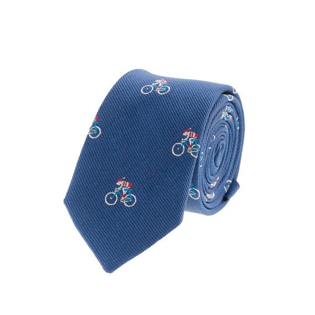 Boys' santa bike tie