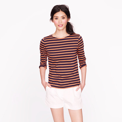 Saint James® for J.Crew three-quarter sleeve tee