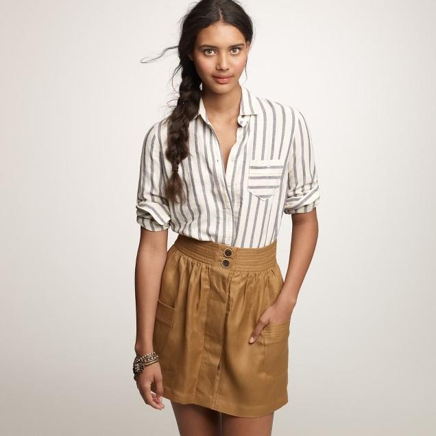 Boy shirt in sailor stripe