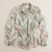 Perfect shirt in flores print