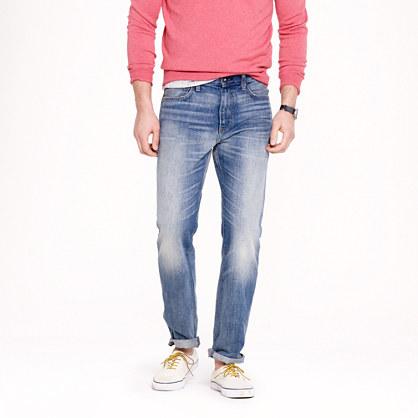 1040 slim-straight jean in light indigo wash