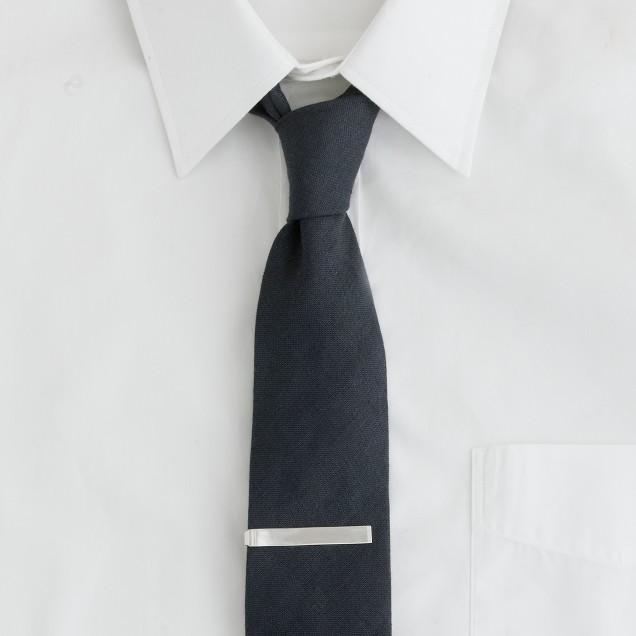 Sterling-silver tie clip