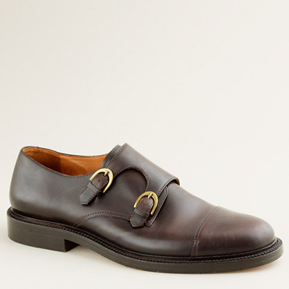 Gifford monk strap shoes