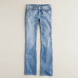 Bootcut jean in faded blues