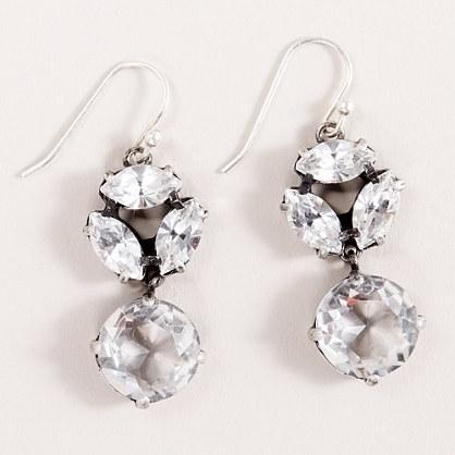 Ice drop earrings