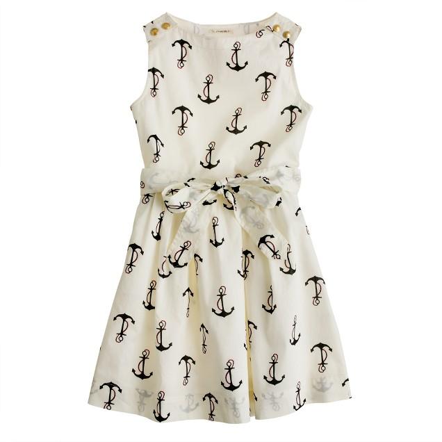 Girls' candy anchor dress