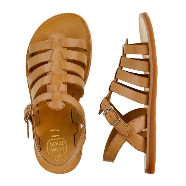 Girls' Pom d'Api® Plagette sandals
