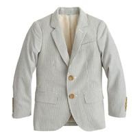 Boys' Ludlow suit jacket in seersucker