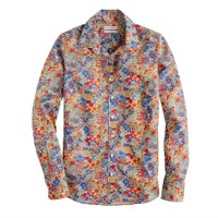 Liberty perfect shirt in Margaret Annie floral