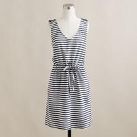 Maritime V-neck dress