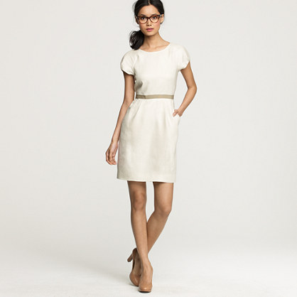 Summer hours dress in linen
